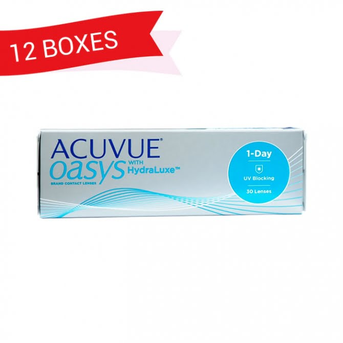ACUVUE OASYS 1-DAY (12 Boxes)