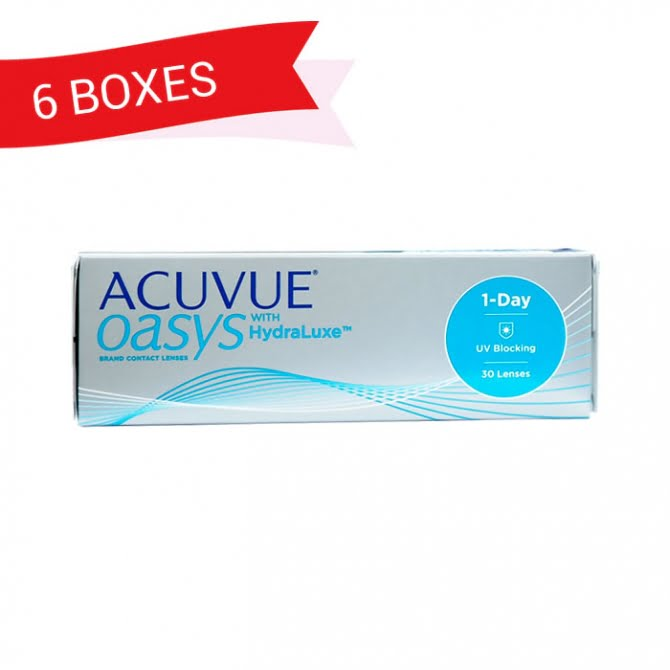 ACUVUE OASYS 1-DAY (6 Boxes)