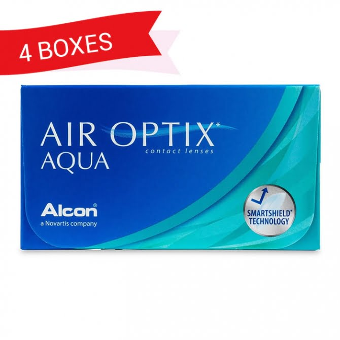 AIR OPTIX AQUA (4 Boxes)