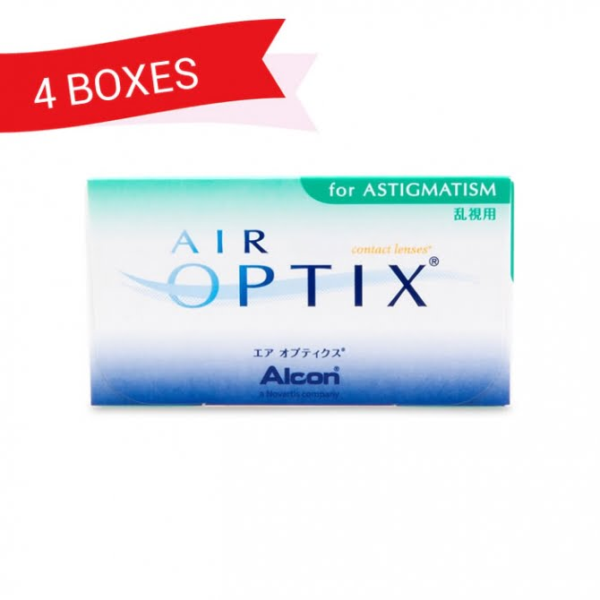 AIR OPTIX FOR ASTIGMATISM (4 Boxes)