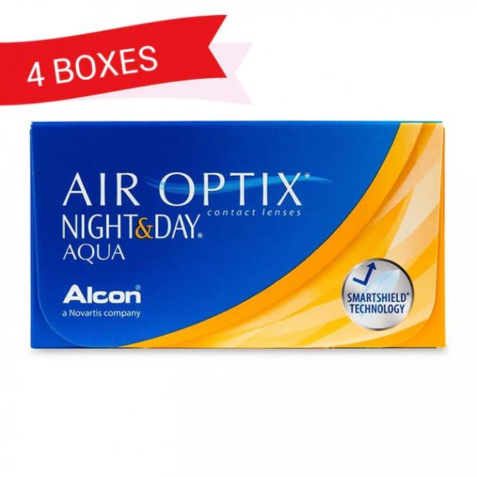 AIR OPTIX NIGHT&DAY (4 Boxes)