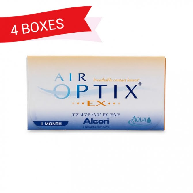 AIR OPTIX NIGHT&DAY (4 Boxes)