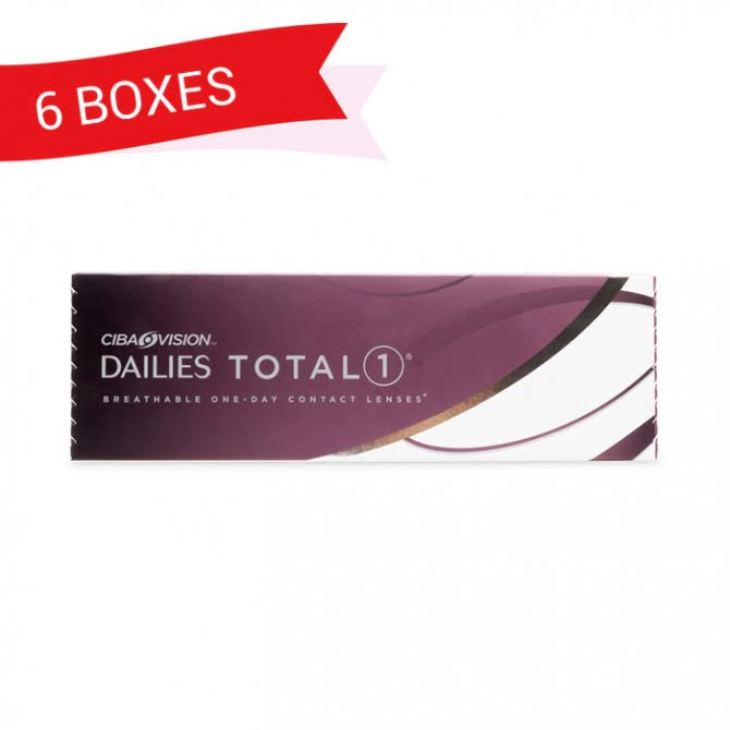 DAILIES TOTAL 1 (6 Boxes)
