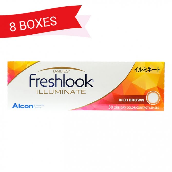 FRESHLOOK ILLUMINATE (8 Boxes)