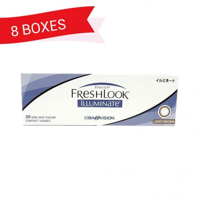 FRESHLOOK ILLUMINATE (8 Boxes)