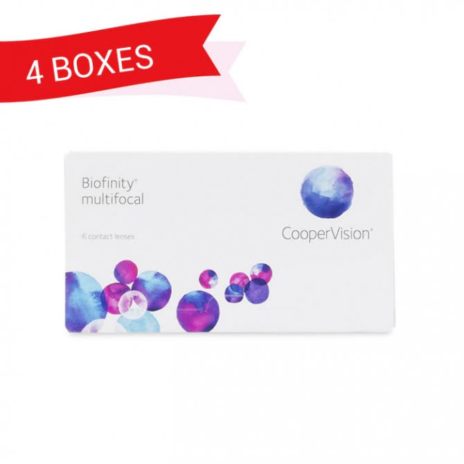 BIOFINITY MULTIFOCAL (4 Boxes)