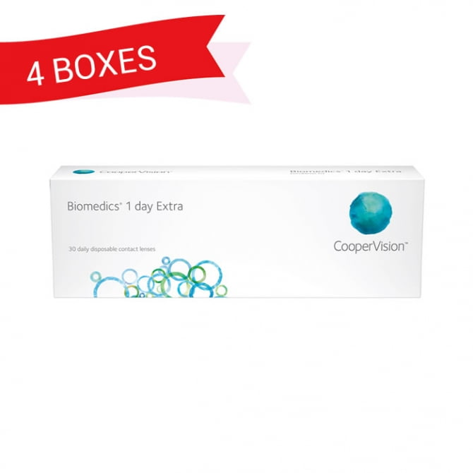 BIOMEDICS 1 DAY EXTRA (4 Boxes)