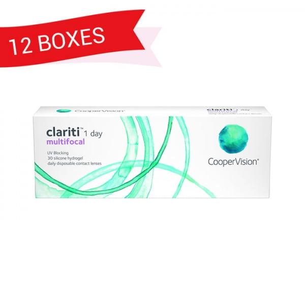 CLARITI 1 DAY MULTIFOCAL (12 Boxes)