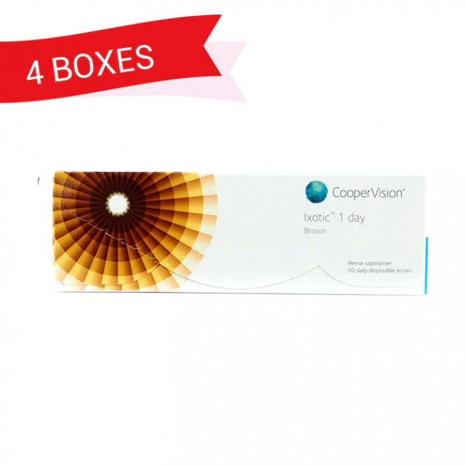 IXOTIC 1 DAY (4 Boxes)