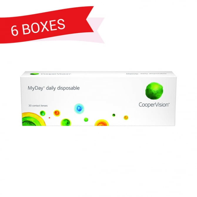 MYDAY DAILY DISPOSABLE (6 Boxes)
