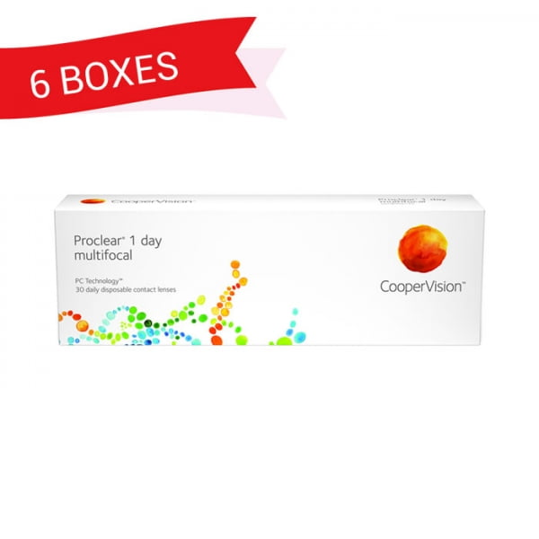 PROCLEAR 1 DAY MULTIFOCAL (6 Boxes)