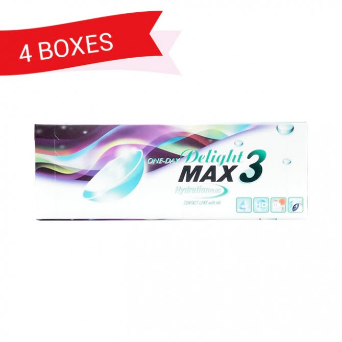 ONE-DAY DELIGHT MAX3 (4 Boxes)