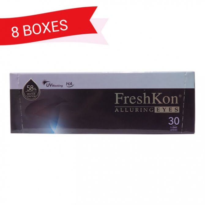 FRESHKON 1-DAY ALLURING EYES (8 Boxes)