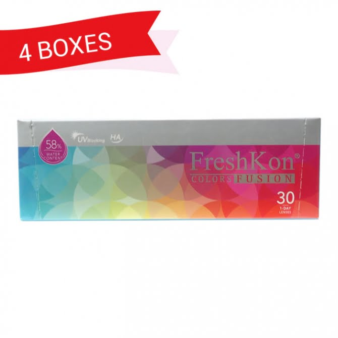 FRESHKON 1-DAY COLORSFUSION (4 Boxes)