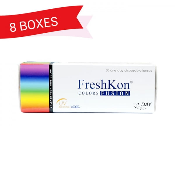 FRESHKON 1-DAY COLORSFUSION (8 Boxes)