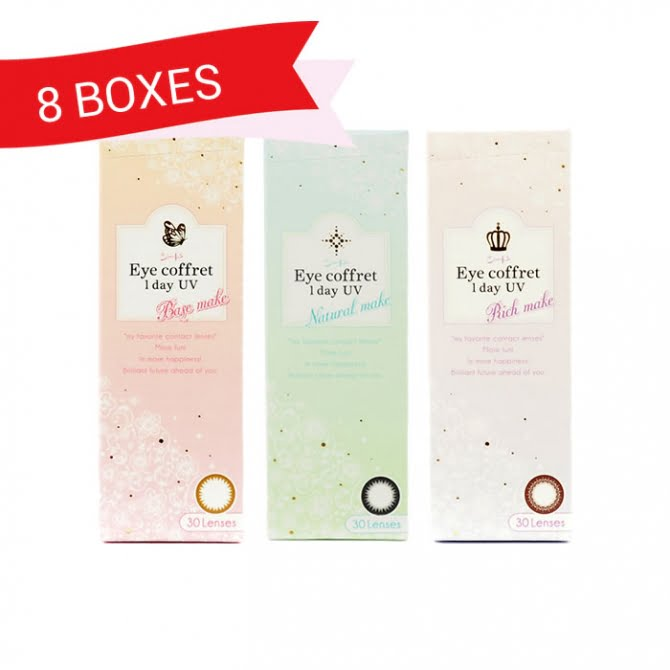 EYE COFFRET 1 DAY UV (8 Boxes)