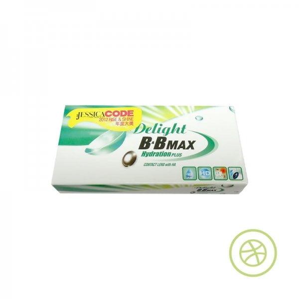 Delight B&B MAX HydrationPLUS 定期更換彩色即棄隱形眼鏡