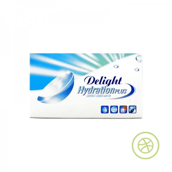 Delight HydrationPLUS 定期更換即棄隱形眼鏡