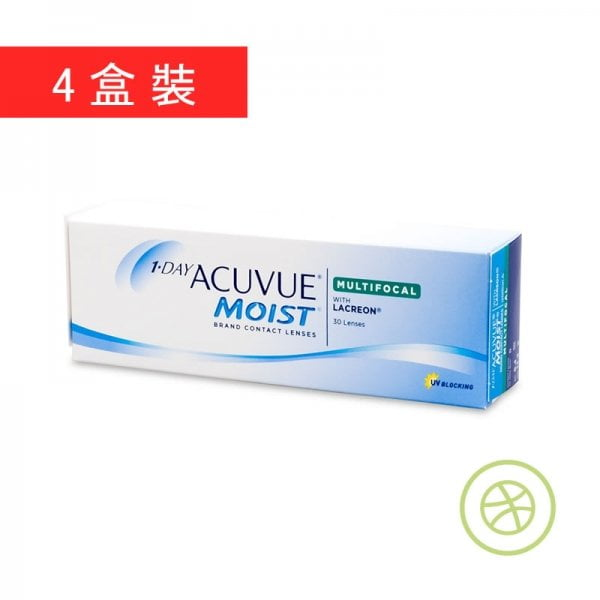 1-Day Acuvue Moist Multifocal (4 Boxes)