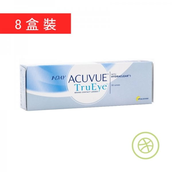 1-Day Acuvue TruEye (8 Boxes)
