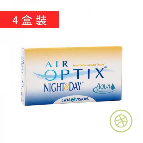 Air Optix Night & Day Aqua (4 Boxes)