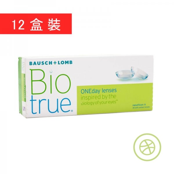 Biotrue 1-Day (12 Boxes)