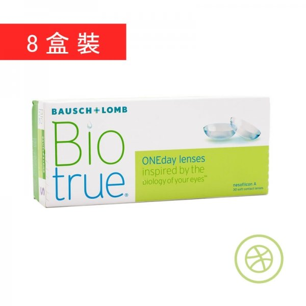 Biotrue 1-Day (8 Boxes)