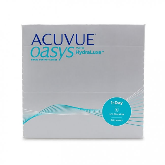 ACUVUE OASYS 1-Day HydraLuxe 90 Pack