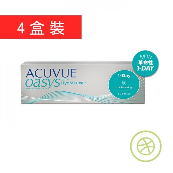 1-Day Acuvue Oasys (4 Boxes)
