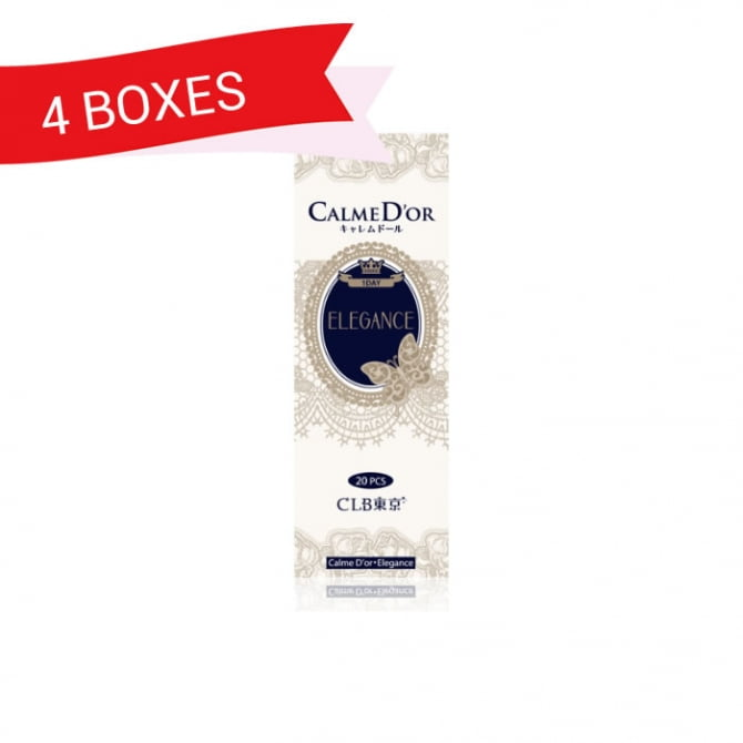 CALMED'OR 1-DAY ELEGANCE (4 Boxes)