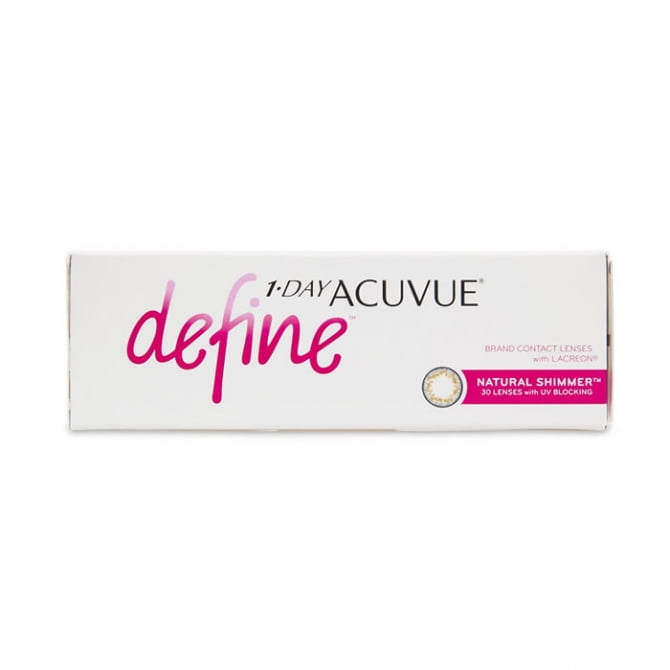 1-DAY ACUVUE DEFINE NATURAL SHIMMER (Special Version)