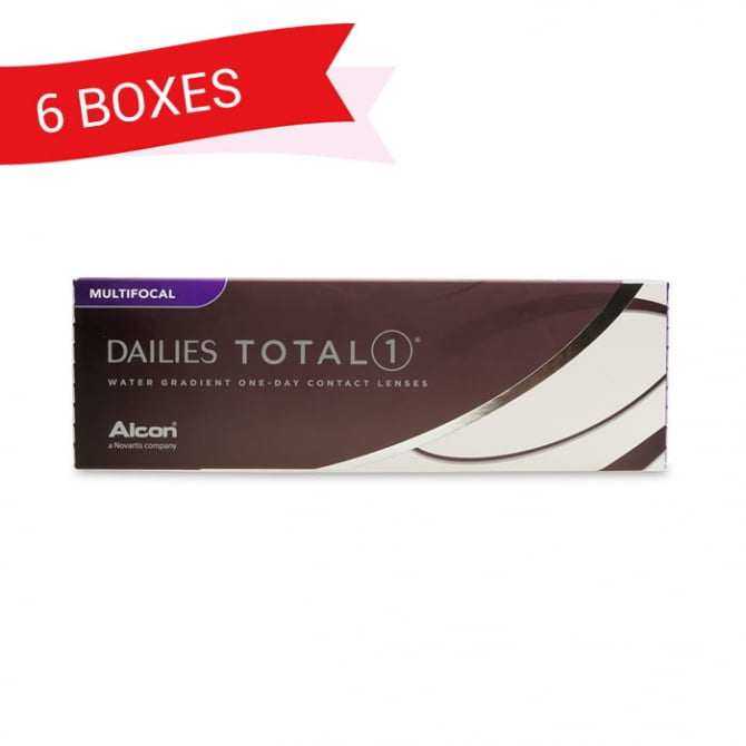 DAILIES TOTAL 1 MULTIFOCAL (6 Boxes)