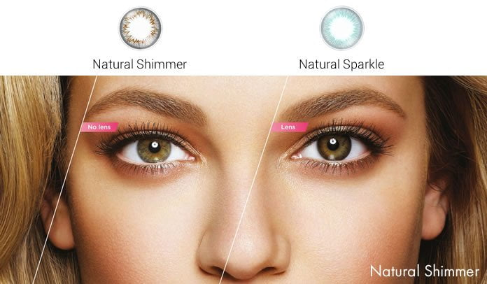 1 Day Acuvue Define Natural Shimmer Singapore Contact Lenses