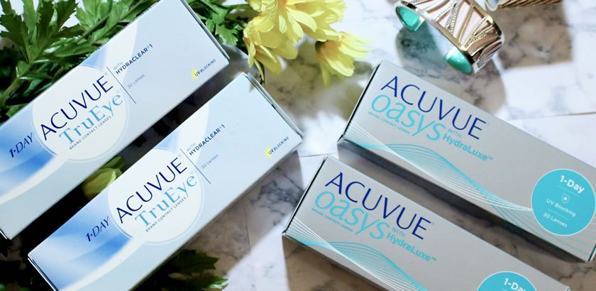 Acuvue Oasys 1-Day vs Acuvue TruEye – a Comparison