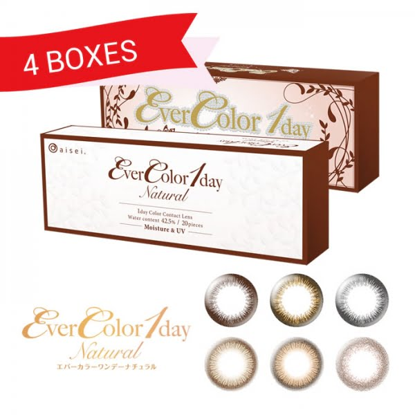 EverColor 1 Day Natural (4 Boxes)