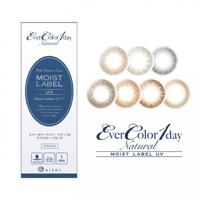 EverColor 1 Day Natural Moist Label UV