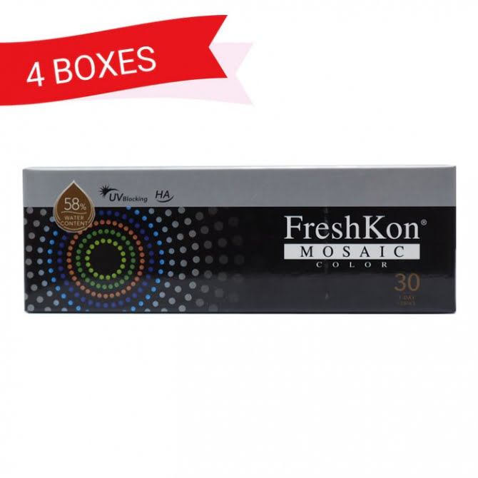 FRESHKON 1-DAY MOSAIC (4 Boxes)